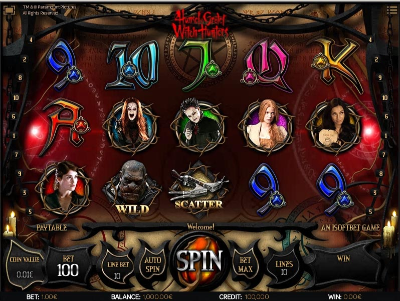 Casino Slots Hansel & Gretel Witch Hunters