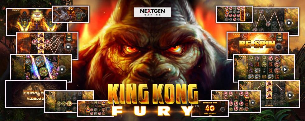 King Kong Fury Gorila, pantallas