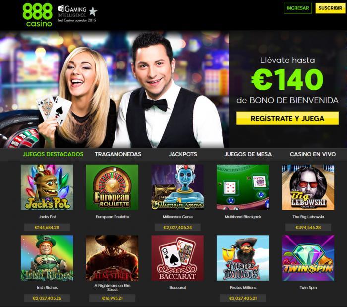 casino on net 888 com gratis