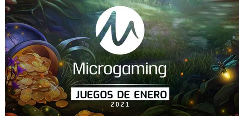 Juegos Microgaming enero