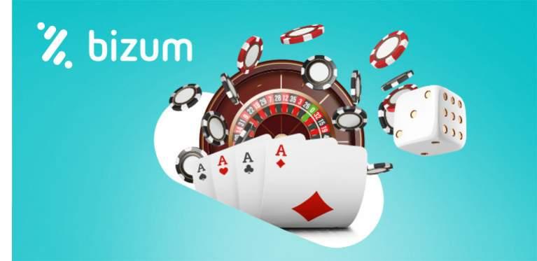 Bizum junto a juegos de casino